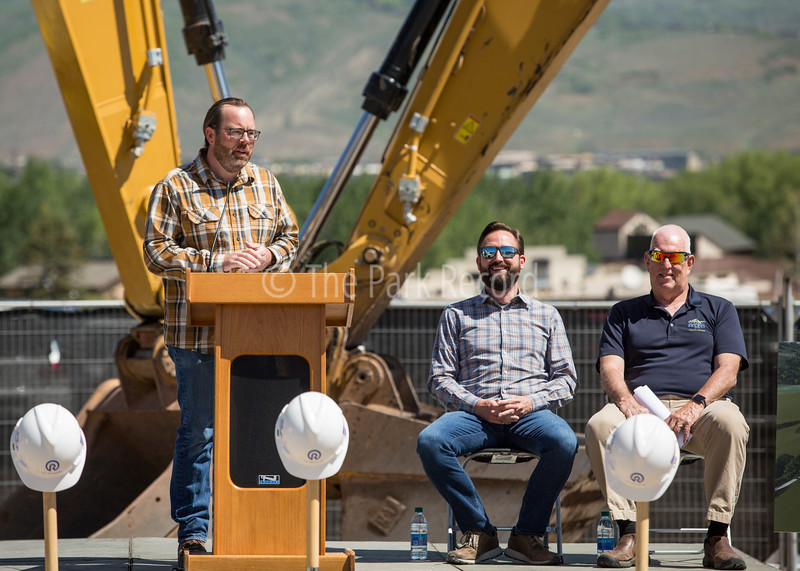 Canyons Village breaks ground on development to house 1,100 workers – The Park Record