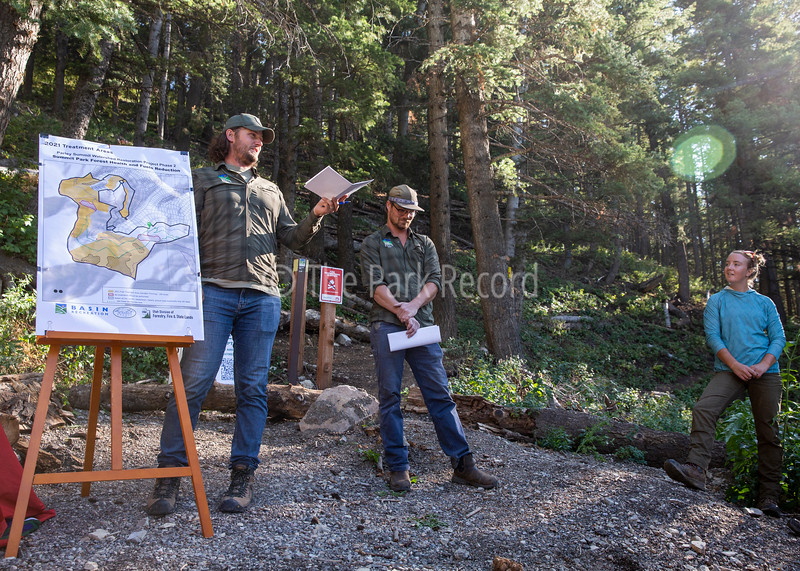 Basin Recreation holds forest health and fuels reduction project meeting and hike – The Park Record