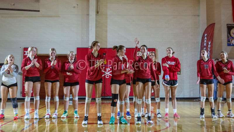 PCHS Volleyball vs. Murray | Oct. 5, 2021 – The Park Record
