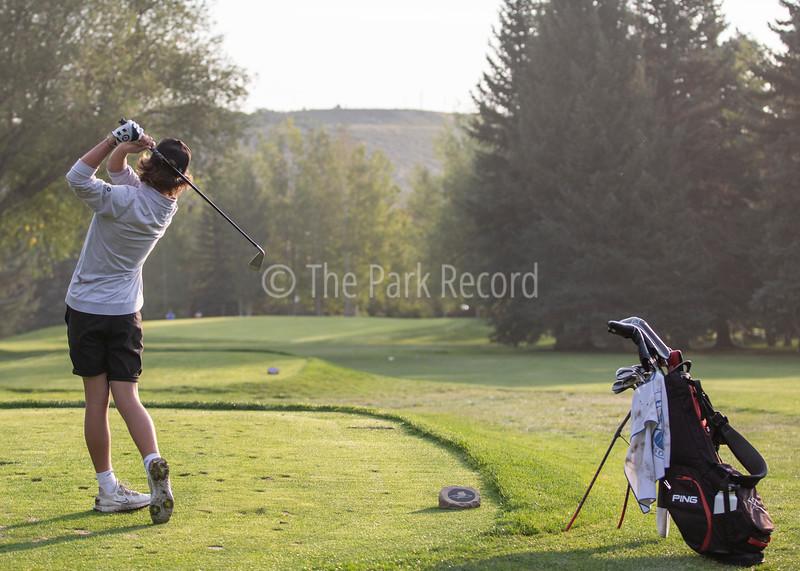 Park City High School boys golf hosts invitational – The Park Record