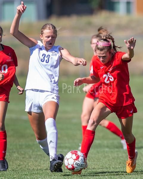 Park City High School girls soccer falls 7-0 to Skyline – The Park Record