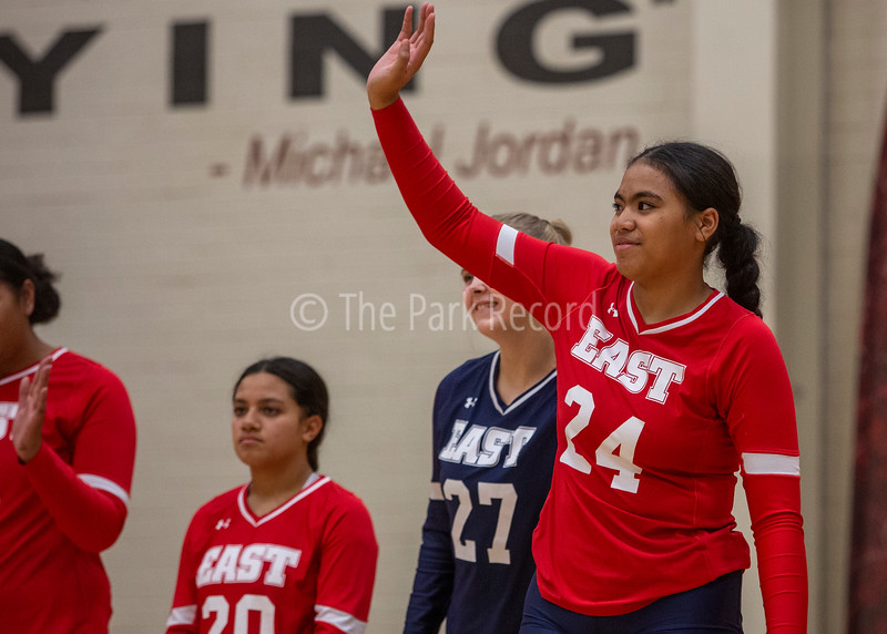 Park City High School volleyball sweeps East High – The Park Record
