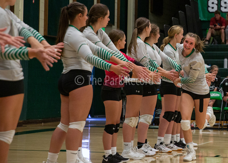 SSHS Volleyball falls to Layton Christian – The Park Record